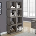 George Contemporary Dark Taupe Bookcase