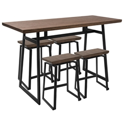 Gerald Modern Counter Table Set