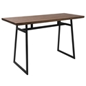 Gerald Rustic Industrial Modern Counter Table