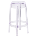 Ghost Modern Transparent Polycarbonate Counter Stool