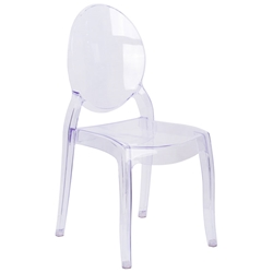 Ghost Modern Polycarbonate Side Chair