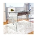 Gibson Contemporary Glass Desk