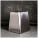 Gus Modern Stainless Steel Glacier End Table