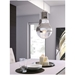 Govern Modern Chrome Hanging Light
