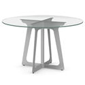 Genesis Modern Round Dining Table by Amisco