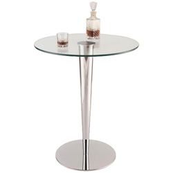 Gosford Modern Glass Counter Table