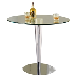 Gosford Modern Glass Dining Table