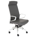 Graham White + Gray Modern Executive Office Chair