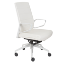 Gotan White + White Modern Office Chair
