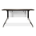 "Gothenburg 55"" Espresso Modern Office Desk"
