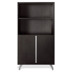 Gothenburg Espresso Laminate Modern Bookcase