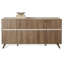 Gothenburg 300 Collection Credenza in Walnut