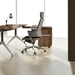 Gothenburg Walnut Contemporary Desk Return + File