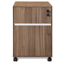 Gothenburg 300 Collection Mobile File in Walnut