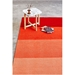Gus* Modern 8x10 Gradient Mid-Pile Rug in Ember - Lifestyle