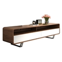 Graham Modern Walnut TV Stand