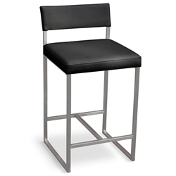 Graph Contemporary Counter Stool by Gus Modern in Coal