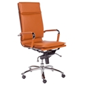 Gunar Modern Cognac High Back Office Chair