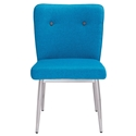 Hadrien Blue Modern Side Chair