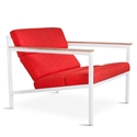 Halifax Contemporary Lounge Chair in Laurentian Sunset