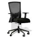 Hanna Modern Black Office Chair