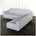 Harbord Modern Loft Bi-Sectional Sofa by Gus Modern in Totem Pebble