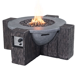 Hades Modern Outdoor Fire Pit