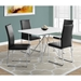 Harlow Modern Dining Chairs + Phoenix Table