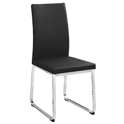 Harlow Black Modern Dining Chair