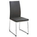 Harlow Gray Modern Dining Chair