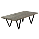 Harper Modern Nantucket Finish Cocktail Table by Saloom