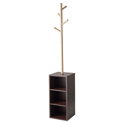 Harris Modern Storage Coat Rack