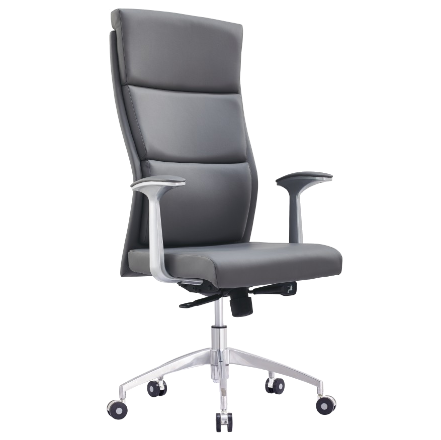 Harvard Gray Modern Executive Office Chair | Eurway