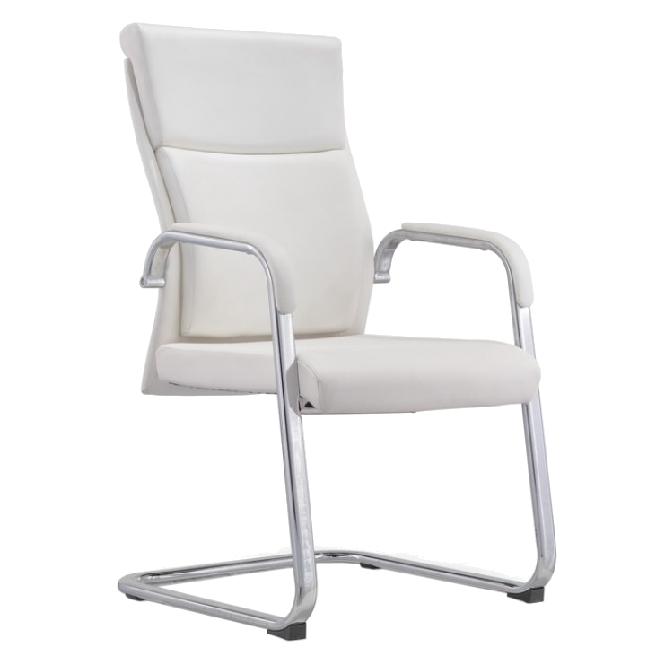 Call To Order Harvard White Modern Office Chair