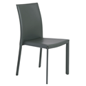 Hasina Gray Modern Stacking Chair