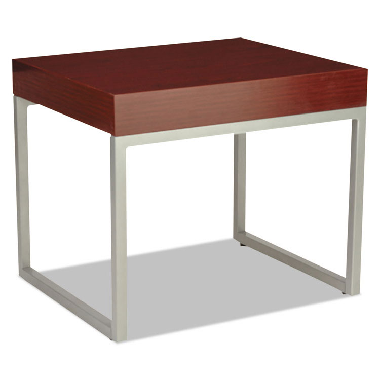 Hastings Mahogany Modern Rectangular End Table