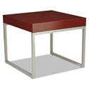 Hastings Mahogany Modern Square End Table