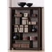 Hershey Contemporary Tall Wenge Bookcase