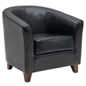 Haworth Contemporary Black Tub Chair