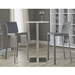 Heather Gray Bar Stools + Ethan Bar Table