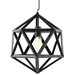 Helio Small Modern Hanging Lamp Detail