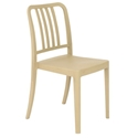 Halliday Modern Taupe Stacking Chair
