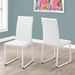 Herron Modern White Dining Chairs