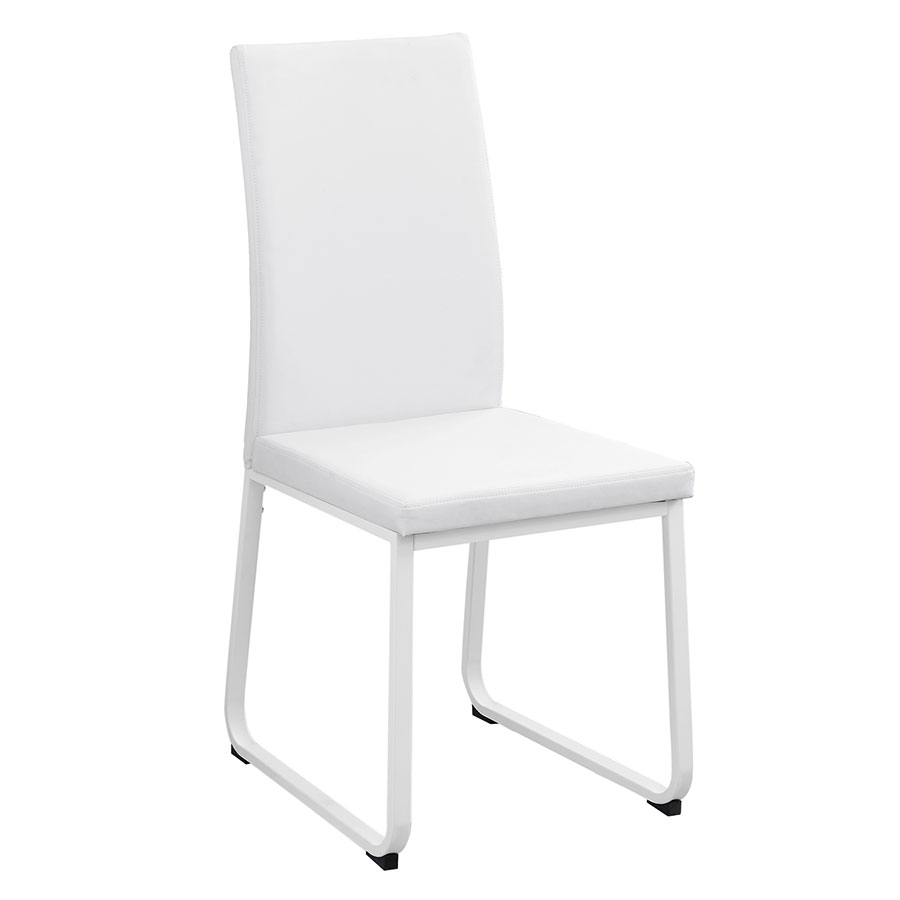 Herron Modern White Dining Chair