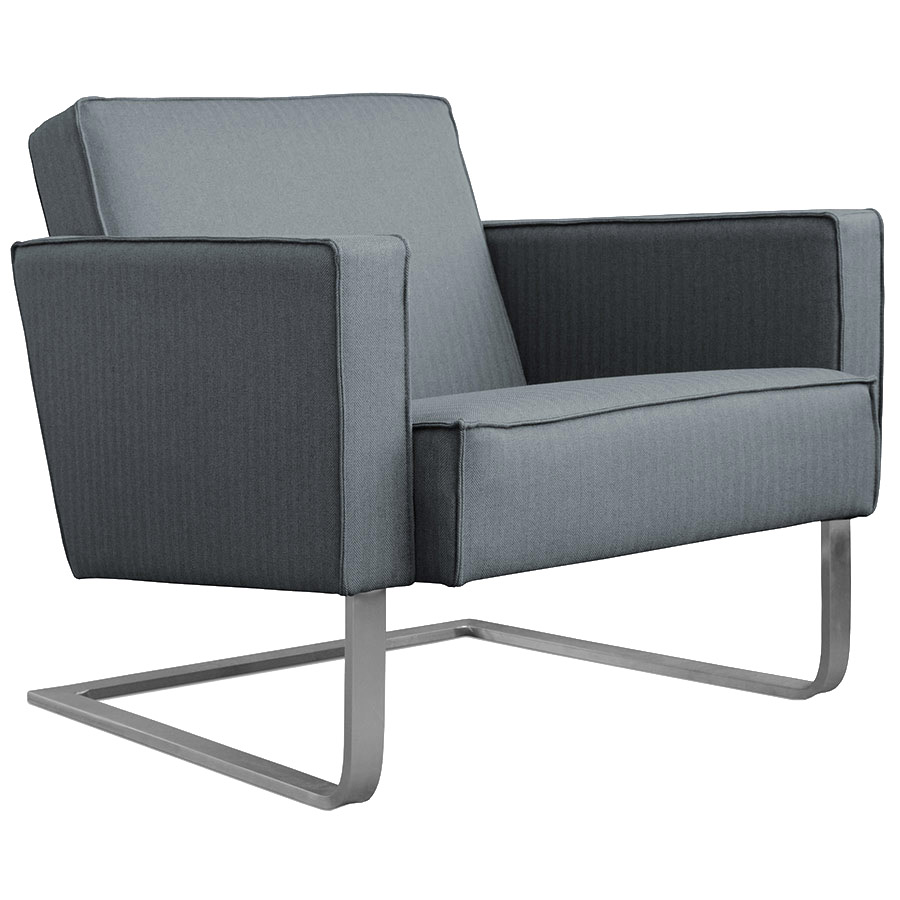 Call To Order High Park Contemporary Lounge Chair In Menswear Griffin
