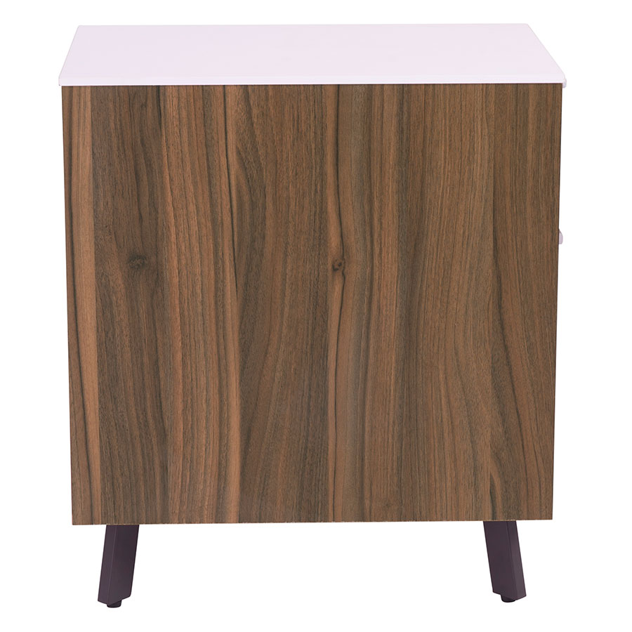 ... Hillard Modern File Cabinet With White Top   Side View ...