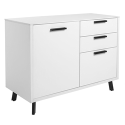 Hart Modern Sideboard in White
