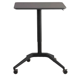 Herning Anthracite Adjustable Height Modern Laptop Desk