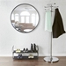 Hub Modern Round 37 Inch Wall Mirror by Umbra