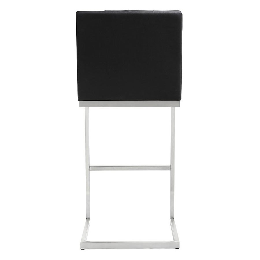 ... Hungary Modern Black Bar Stool - Back View ...  sc 1 st  Eurway & Modern Stools | Hungary Black Bar Stool | Eurway Modern islam-shia.org